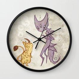 Mutant Greeting Wall Clock
