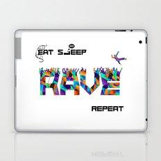 Eat Sleep RAVE Repeat Laptop & iPad Skin