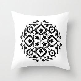Persian Glaze Throw Pillow
