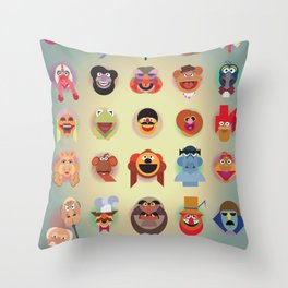 A(nimal) to Z(oot) Throw Pillow