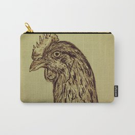 Go Vegan Now - Meat is Murder Chicken Carry-All Pouch