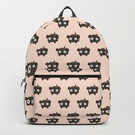 Pitbull Loaf- Brindle Pit Bull with Floppy Ears Backpack