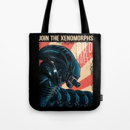 Join the Xenomorphs Tote Bag