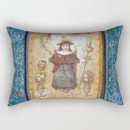 El Santo Nino De Atocha Rectangular Pillow