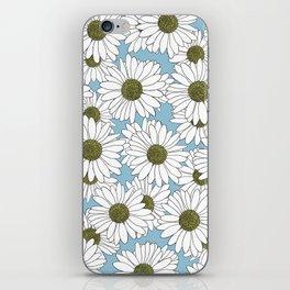 Daisy Blue iPhone Skin