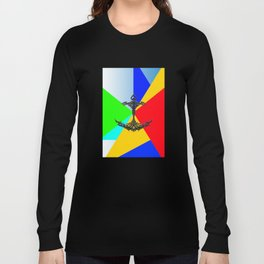 The Anchor Stripes Colorful Long Sleeve T-shirt