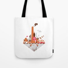 Welcome to the Kelham Island Quarter Tote Bag
