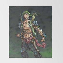Sinbad Throw Blanket