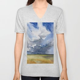 Head in the Clouds Unisex V-Neck