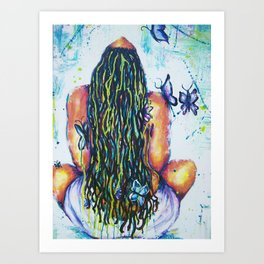 Released and Free Art Print