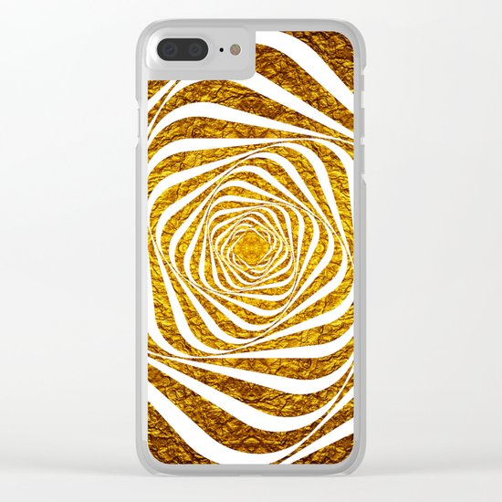 Spiral Clear iPhone Case