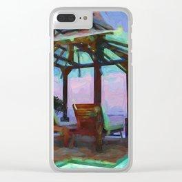 Tropical Coast Clear iPhone Case