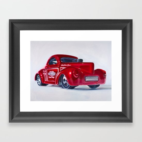41 Willys Coupe Framed Art Print