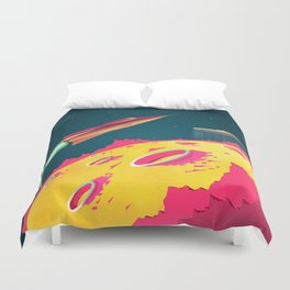FLYING SAUCERS ATTACK Duvet Cover