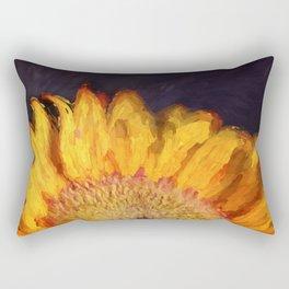 Paint Me a Sunflower Rectangular Pillow