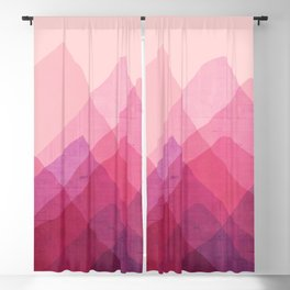 Abstraction_MOUNTAINS Blackout Curtain