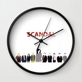 Scandal Minimalism Wall Clock
