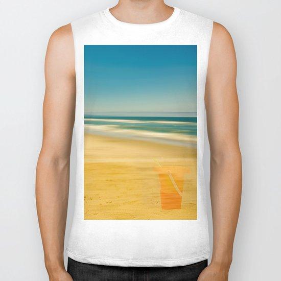 Beach & Bucket  Biker Tank