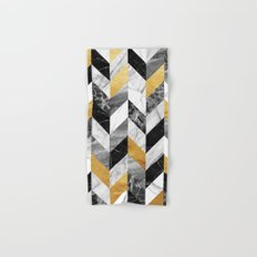 Marble Pattern Hand & Bath Towel