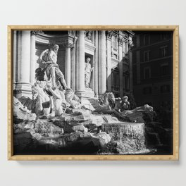 Fontana Di Trevi - Rome I Serving Tray