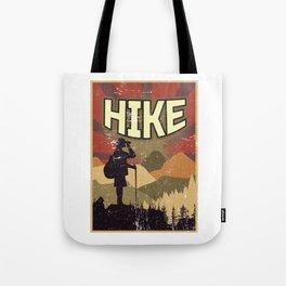 Hike Propaganda | Hiking Nature Outdoor Camping Tote Bag