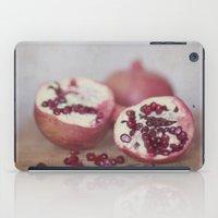 pomegranate iPad Cases featuring Pomegranate by Kim Bajorek