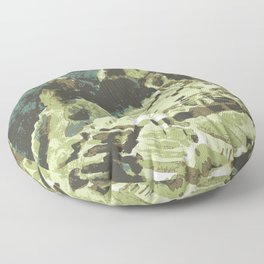 Machu Picchu Peru Floor Pillow