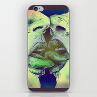valentines iPhone & iPod Skins featuring Valentines by Kaleidoscopic