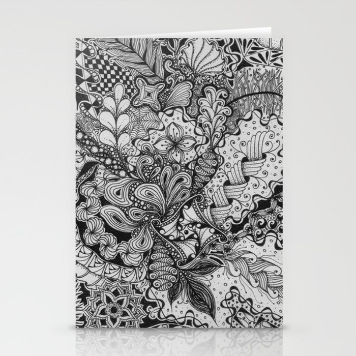 Zentangle®-Inspired Art - ZIA 79 Stationery Cards