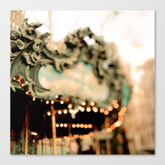 Dreamy Carousel  Canvas Print