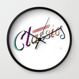 Classics Wall Clock