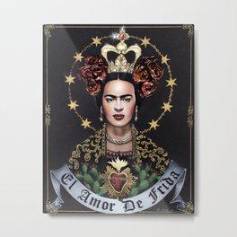 """""""El Amor de Frida"""" Metal Print"""