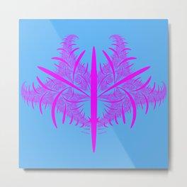 pink strukture Metal Print