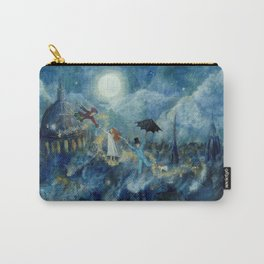 An Awfully Big Adventure - Peter Pan - Nursery Decor Carry-All Pouch