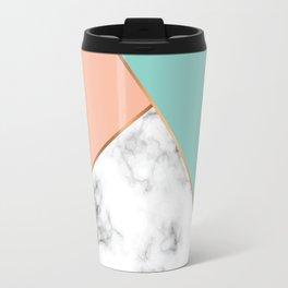 Marble Geometry 056 Travel Mug