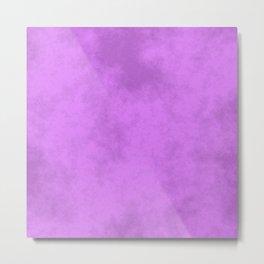 Grape Cotton Candy Metal Print