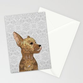 Miniature Pincher Stationery Cards