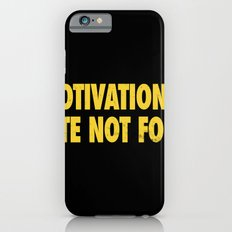 Motivational Quote Not Found Slim Case iPhone 6s
