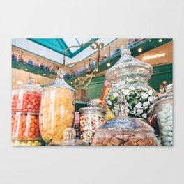 Sweets Shop Canvas Print