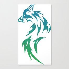 Fox - Apparel Canvas Print