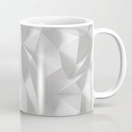 White polygonal landscape Coffee Mug