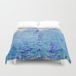 Blue Salvia Duvet Cover