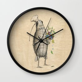 LIFE OF INSECT ''CHEF'' Wall Clock