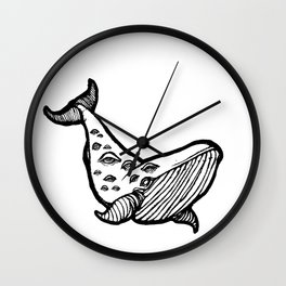 Whales! Wall Clock