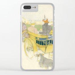 """Henri de Toulouse-Lautrec """"Partie de Campagne"""" Clear iPhone Case"""
