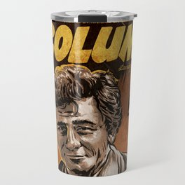 Columbo - TV Show Comic Poster Travel Mug