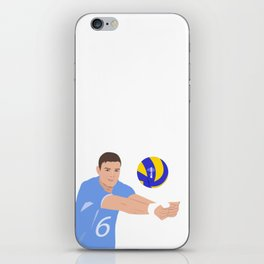 Volleyball cartoon iPhone Skin