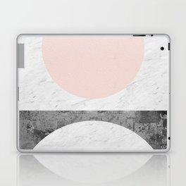 Geometric and minimalist marble Laptop & iPad Skin