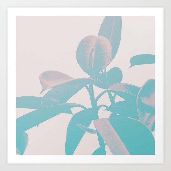 Pastel Botanic Art Print