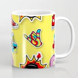 Pop art mix pattern Coffee Mug